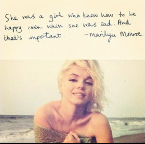 happiness quotes marilyn monroe