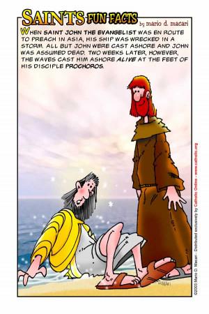 Saints Fun Facts for St. John the Evangelist