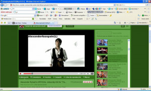 ... my alexander rybak pc background alexander rybak photo 9387065