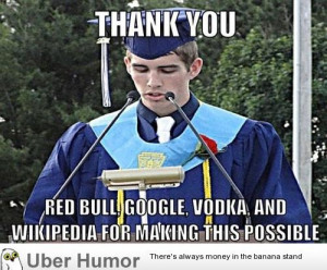 What college students should really say at graduations