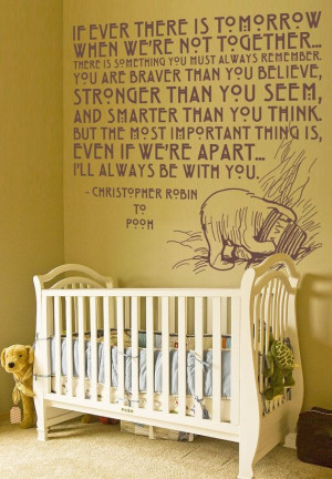 Quotes, Pooh Bears, Kids Room, Vinyls Wall Decals, Baby Room, Winnie ...