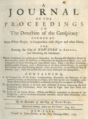 Daniel Horsmanden, A Journal of the Proceedings . . . 1744. (GLC04502 ...