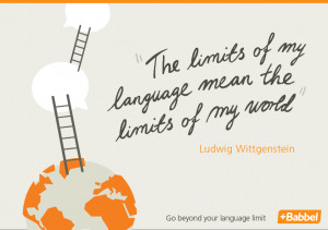 "The limits of my language mean the limits of my world."" Ludwig ..."