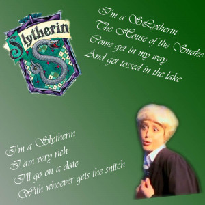 Slytherin House Quotes Mom house song-slytherin-avpms by snoopygirl213