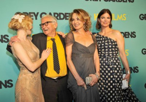 Drew Barrymore, Jeanne Tripplehorn, Jessica Lange and Albert Maysles ...