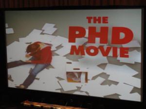 The PhD Comics Movie