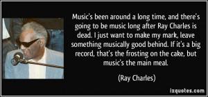 More Ray Charles Quotes