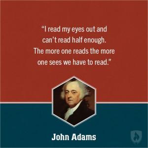 John Adams Education Quote