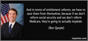 Social Security Reform Quotes