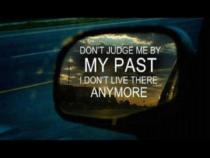 Don't judge people by their past
