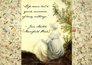Jane Austen Quote - Mansfield Park