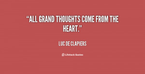 Thoughts From the Heart Quotes