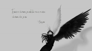 angels wings anonymous quotes sad monochrome 1920x1080 wallpaper ...