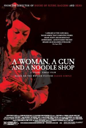 Sección visual de Una mujer, una pistola y una tienda de fideos ...