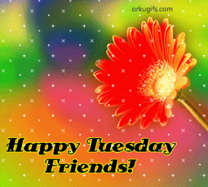 Happy Tuesday Friends!