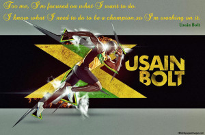 Usain Bolt Inspirational And Motivational Quotes Images, Pictures ...