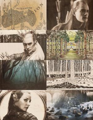 mine the hobbit Tolkien legolas elves the precious Thranduil tauriel