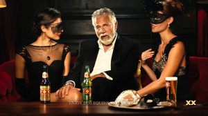 most interesting man in the world commercial