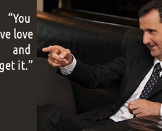 Bashar al-Assad Quotes to Remind You What's Important, RE: 9 Amy ...