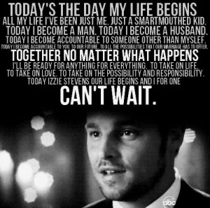 ... quotes and this man, Alex Karev is kind, sensitive,intelligent and