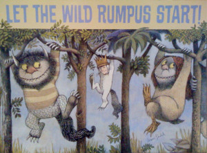 let the wild rumpus start poster this poster depicting max and the ...