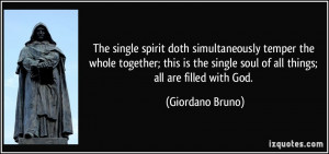 More Giordano Bruno Quotes