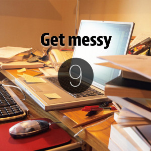 separate messy desk can improve your creativity Getty Images