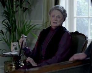Lady Grantham doles out some common sense