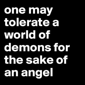Angel and Demon Love Quotes