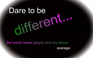 Christian Teen Girls: Dare to be Different!
