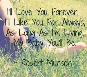 ll love you forever quotes for him
