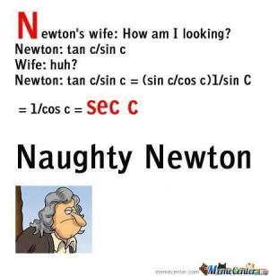 Naughty Newton
