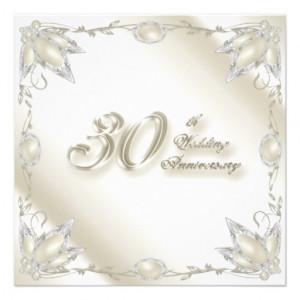 30th_wedding_anniversary_invitation_card ...