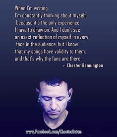 linkin park chester bennington more band singing quotes rocks met band ...