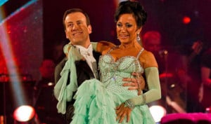 Strictly Come Dancing star Anton Du Beke is swept off his feet by ...