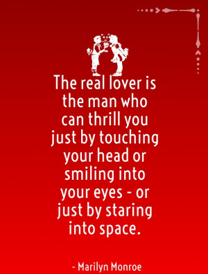 cute love quotes by marilyn monroe