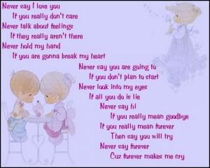 Precious Moments Love Poem Image
