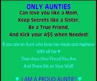 Funny Pictures Quotes Photos About Aunts And Nieces