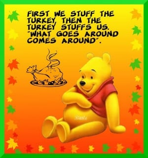 Winnie the Pooh Thanksgiving