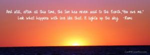 Rumi Quotes Facebook Covers Rumi quote