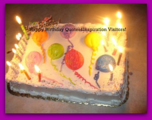 Happy Birthday Wishes Cake Pictures Inspirational Quotes