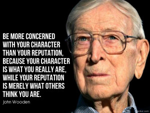 egendary Coach John Wooden wrote a book based on his incredible ...