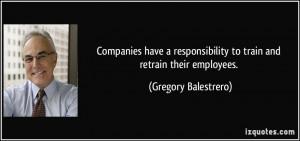 More Gregory Balestrero Quotes