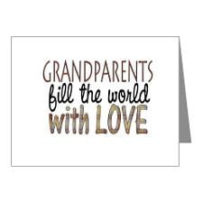 Grandparents Thank You Cards & Note Cards