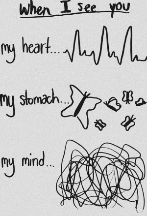 When I see you…
