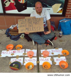 Clever homeless people US Humor - Funny pictures, Quotes, Pics, Photos ...
