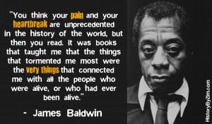 In Their Words – James Baldwin