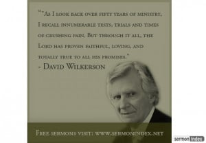 David Wilkerson Quote