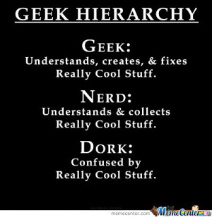 Geek-Nerd-Dork