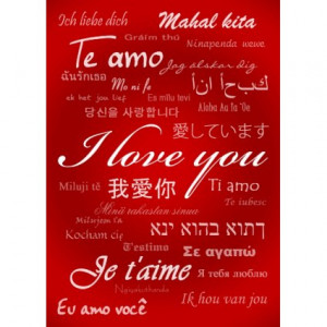 Love You (30 Languages) by Holiday_Gear
